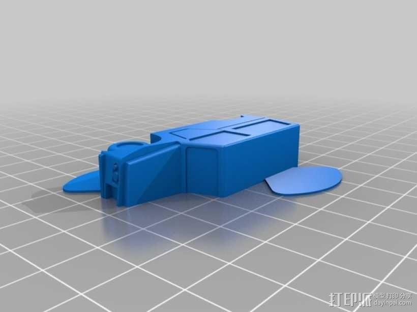 雪铁龙吉普车 3D模型  图3