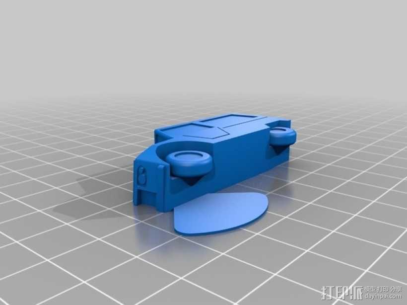 雪铁龙吉普车 3D模型  图2