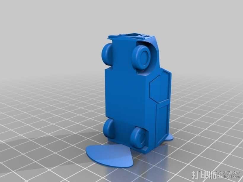 雪铁龙吉普车 3D模型  图4