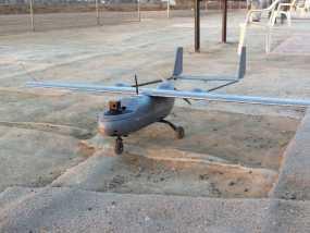 """""""空中猎手""""遥控飞机 起落架 3D模型"""