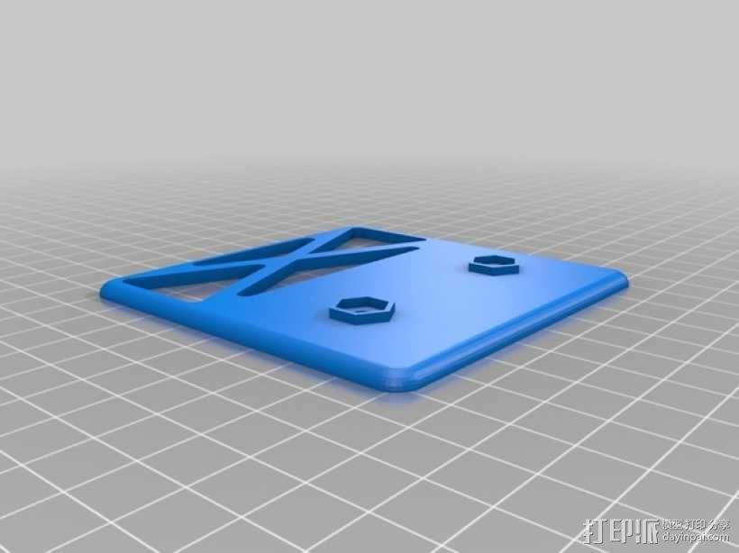 """""""空中猎手""""遥控飞机 起落架 3D模型  图11"""