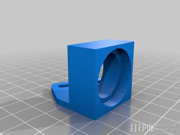SMD工作台 焊铁固定夹 3D模型  图2