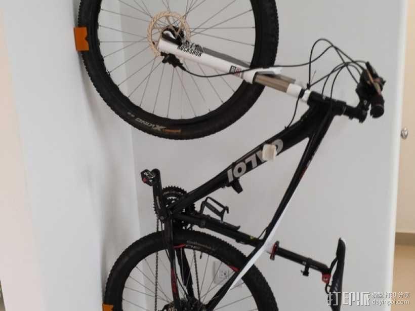 MTB山地自行车 支架 3D模型  图1