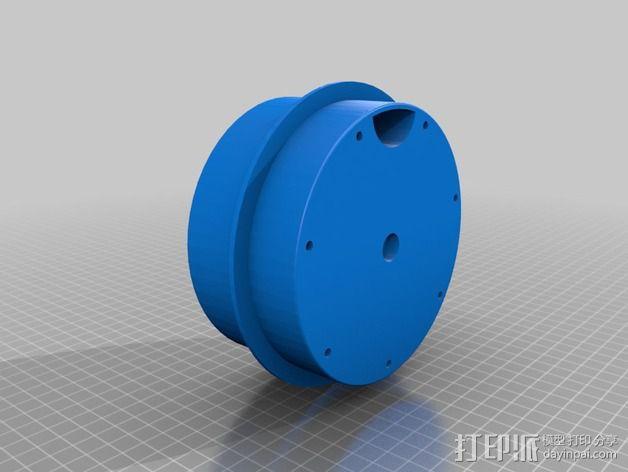 鱼菜共生 鱼缸零部件 3D模型  图5
