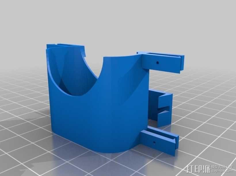 简易六足机器人 3D模型  图5