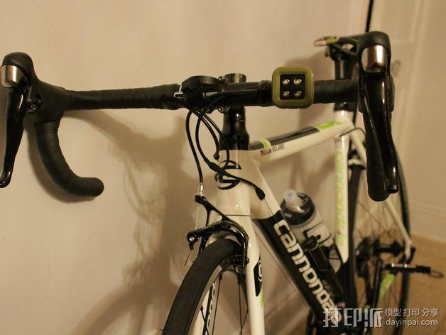 Knog Blinder自行车车灯安装支架 3D模型  图4