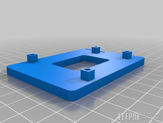 Arduino Yun电路板 底座 3D模型  图1