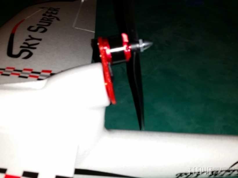 马达配适器 3D模型  图4
