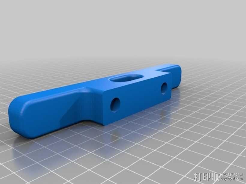 福特Ranger汽车 锚座 3D模型  图2