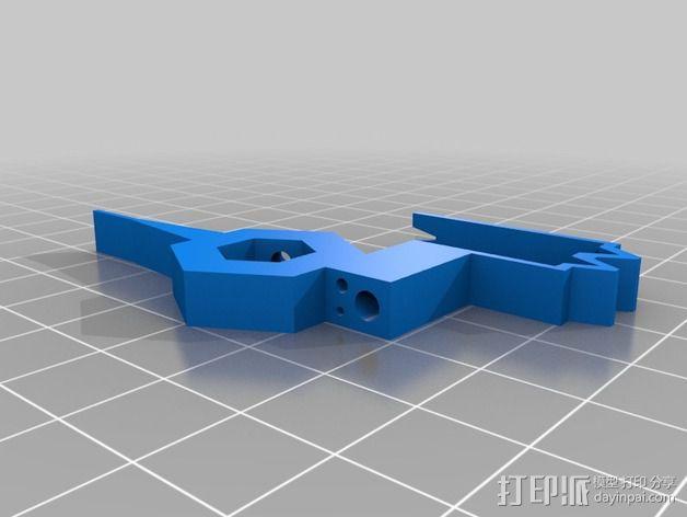 自动绕线机 3D模型  图2