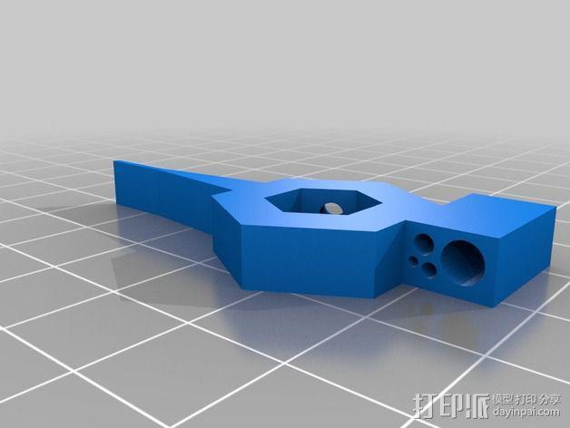 自动绕线机 3D模型  图3