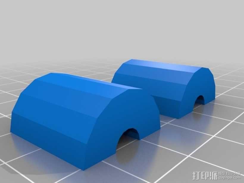 自动绕线机 3D模型  图4