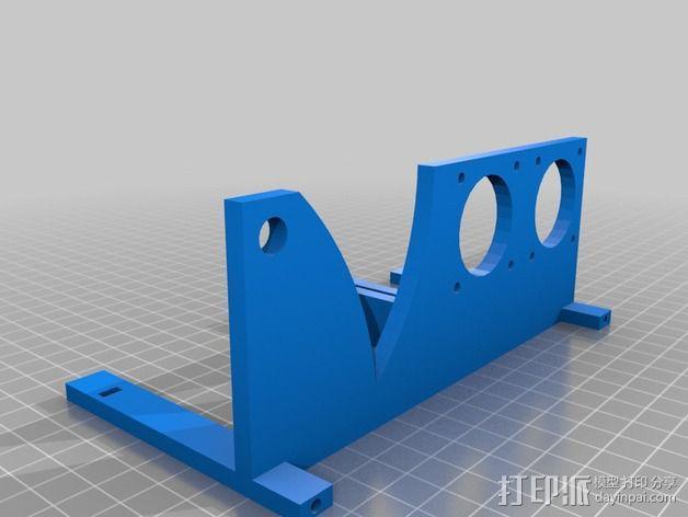自动绕线机 3D模型  图5