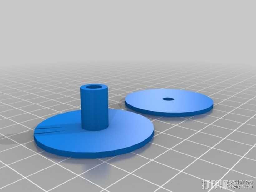 自动绕线机 3D模型  图8