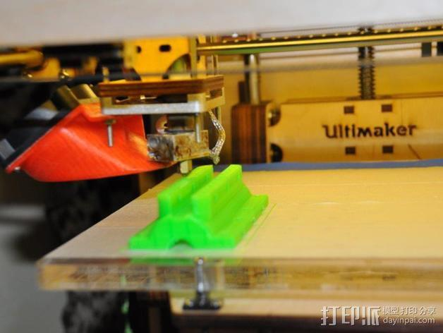 滑水板 Gopro相机固定架 3D模型  图5