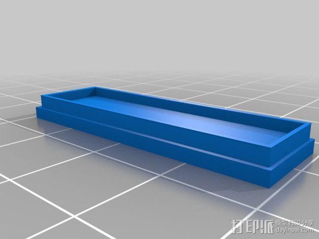Proxmark 3电路板 外壳 3D模型  图3