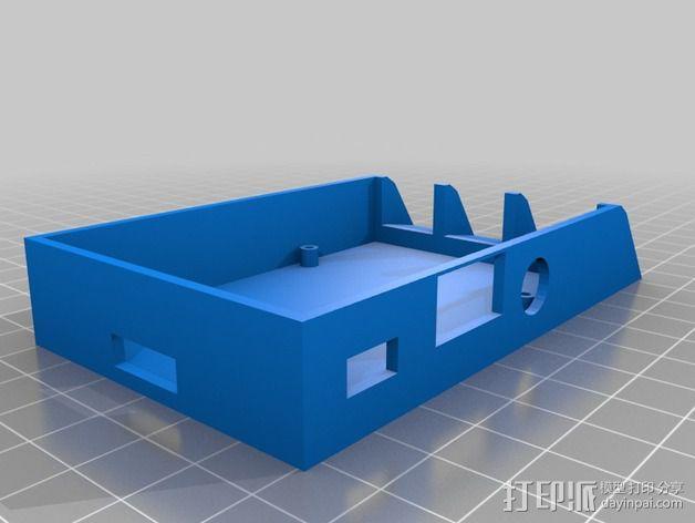 树莓派B+外壳 3D模型  图3
