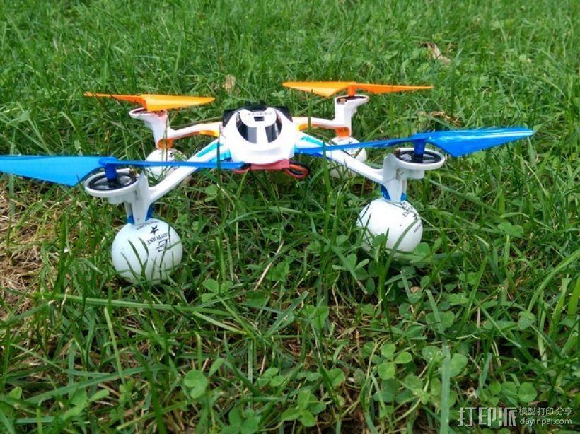 四轴飞行器 起落架 3D模型  图6