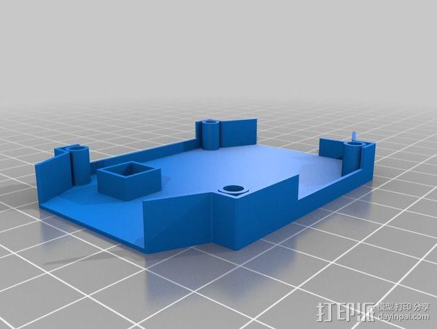 四轴飞行器框架 3D模型  图13
