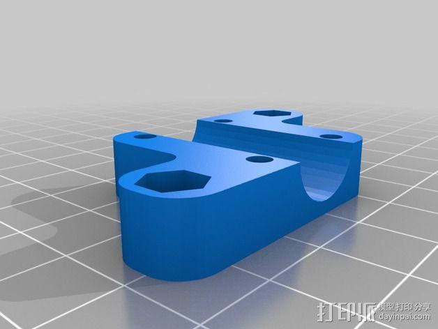 四轴飞行器框架 3D模型  图12