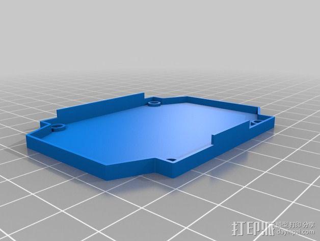四轴飞行器框架 3D模型  图15