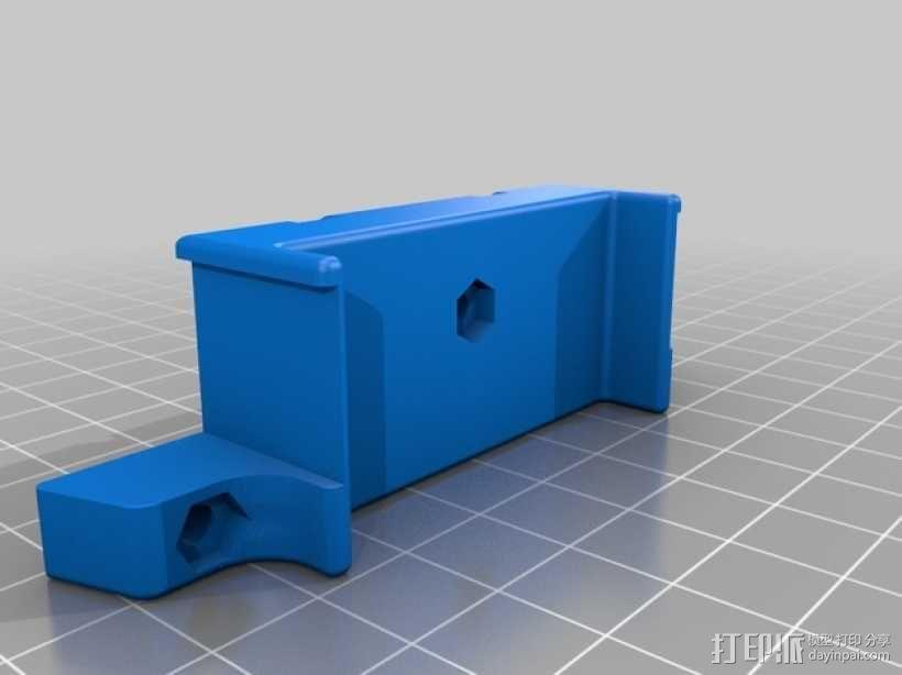 四轴飞行器框架 3D模型  图16