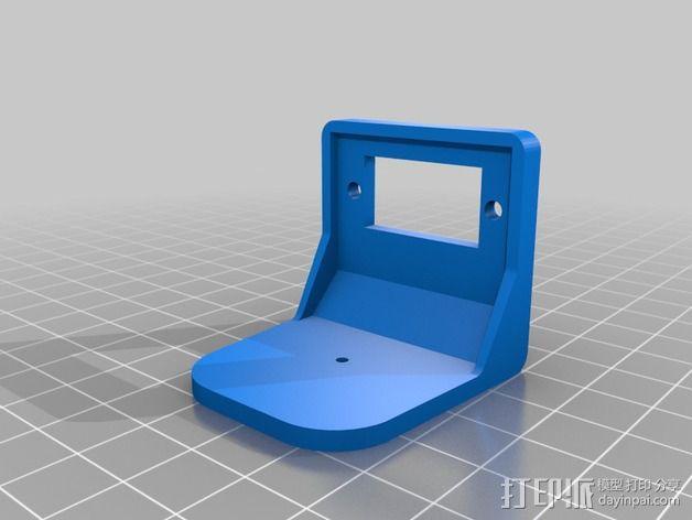 四轴飞行器框架 3D模型  图14