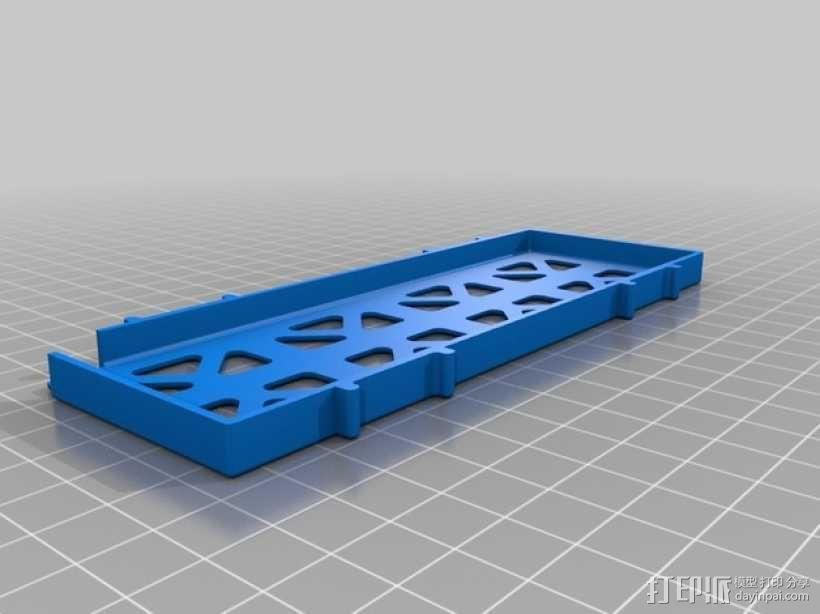 四轴飞行器框架 3D模型  图18
