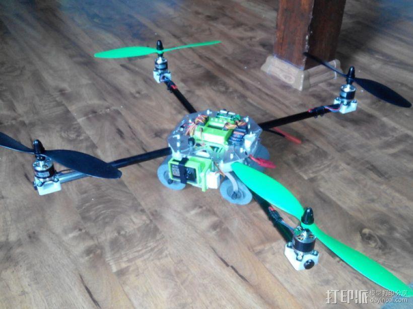 四轴飞行器框架 3D模型  图19