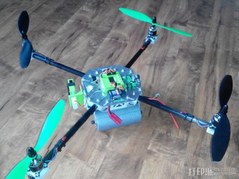 四轴飞行器框架 3D模型  图20