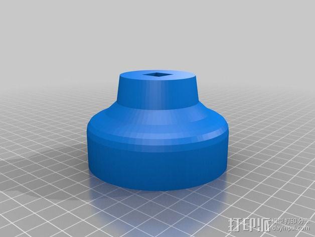 滤油器 帽盖 3D模型  图3