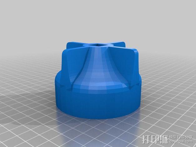 滤油器 帽盖 3D模型  图2