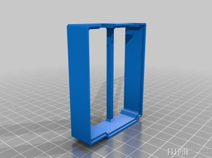Arduino UNO电路板外壳 3D模型  图4