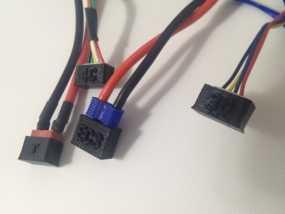 电池连接器 接头 3D模型