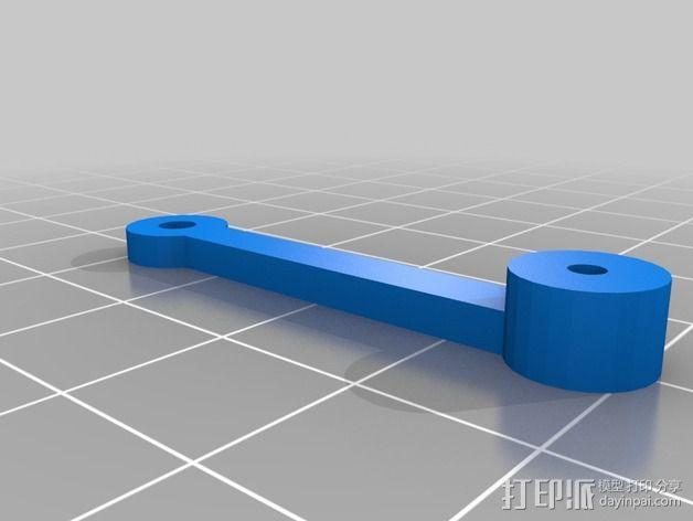 线性致动器  3D模型  图4