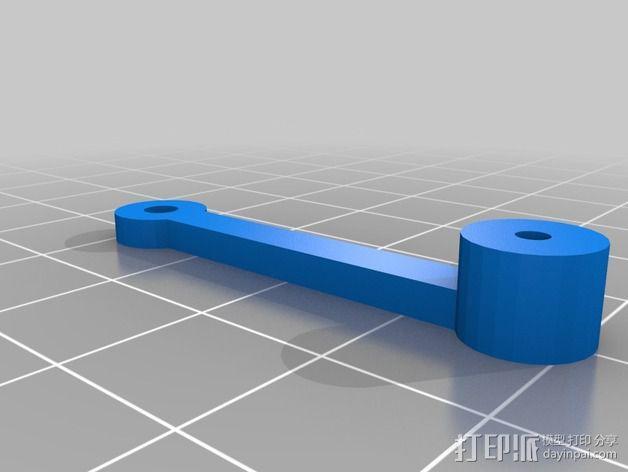 线性致动器  3D模型  图5