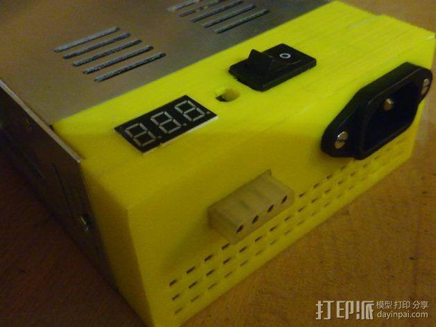 电源 外壳 3D模型  图1