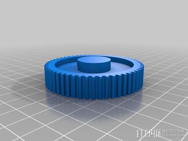 雨刷 齿轮 3D模型  图2