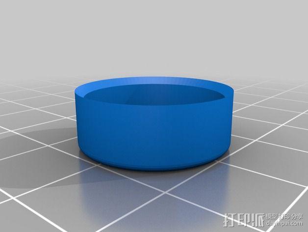 Mobius相机镜头盖 3D模型  图2