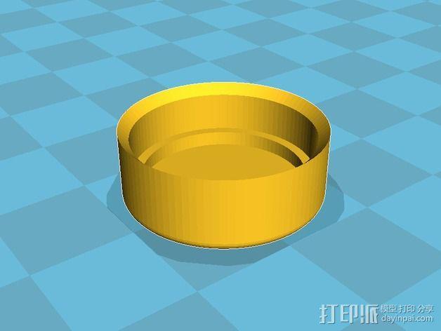 Mobius相机镜头盖 3D模型  图3