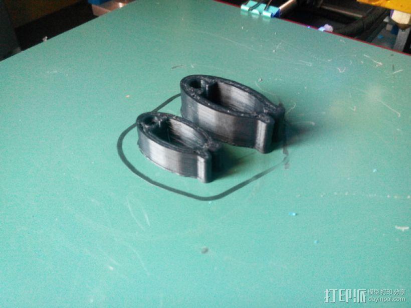 线缆夹 3D模型  图1