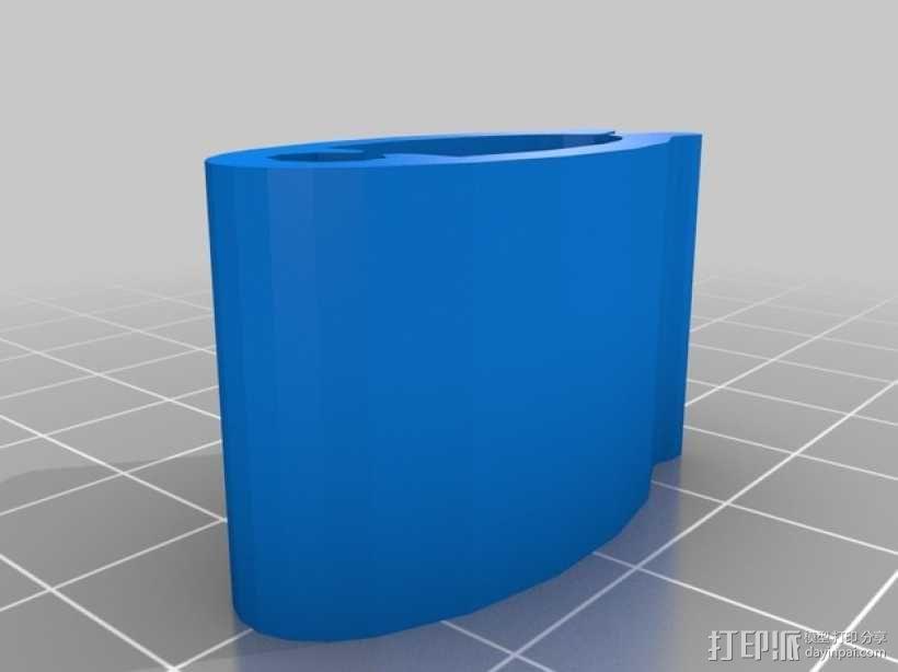 线缆夹 3D模型  图4