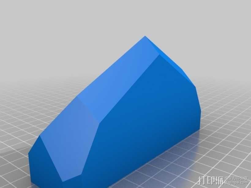 摩托车刹车灯 3D模型  图2