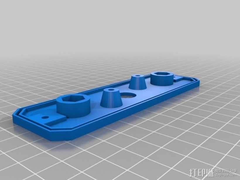摩托车刹车灯 3D模型  图3
