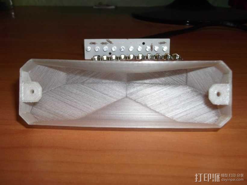 摩托车刹车灯 3D模型  图7