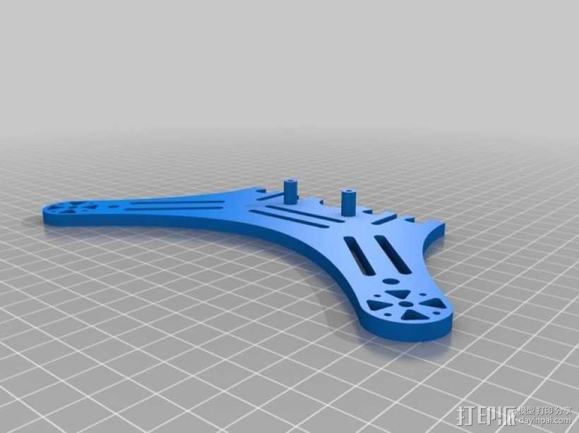 DIY迷你四轴飞行器 3D模型  图3