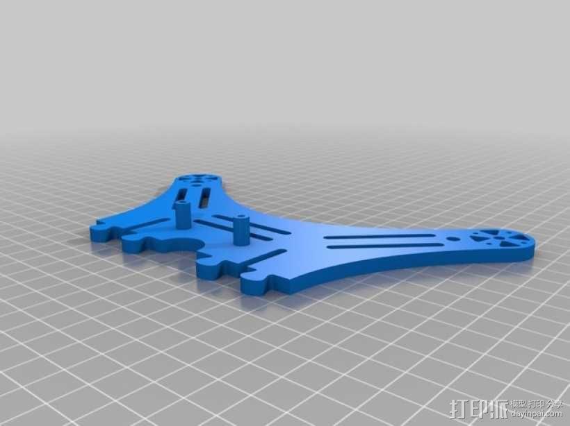 DIY迷你四轴飞行器 3D模型  图4