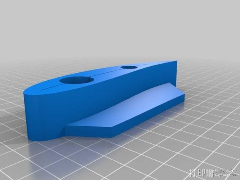 风力涡轮机叶片 3D模型  图3