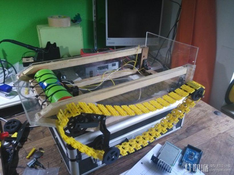 迷你遥控坦克 3D模型  图3