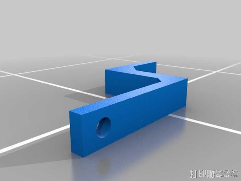 迷你遥控坦克 3D模型  图6